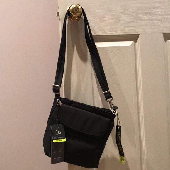 957fa5cb3c Travelon anti-theft classic mini shoulder bag